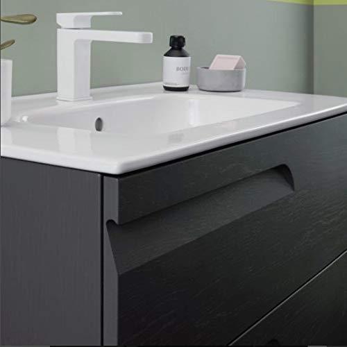 ROYO Vitale Mueble+Lavabo 3 cajones F-39 cms Gris Nature - Medida: 80 CMS