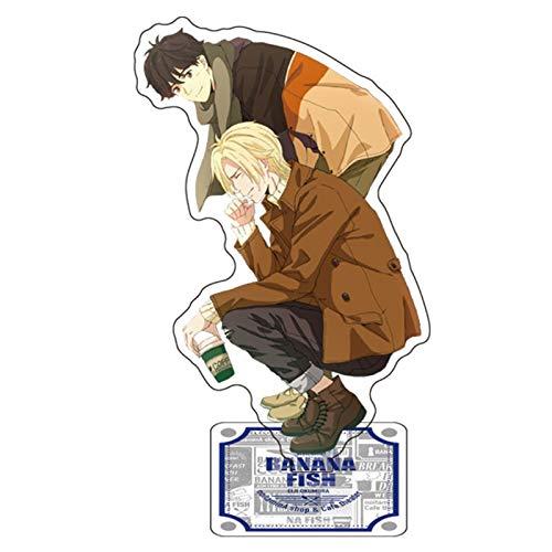 Aristory Anime Banana Fish Ash Okumura Eiji Couple Acrylic Stand Figure(Style-2)