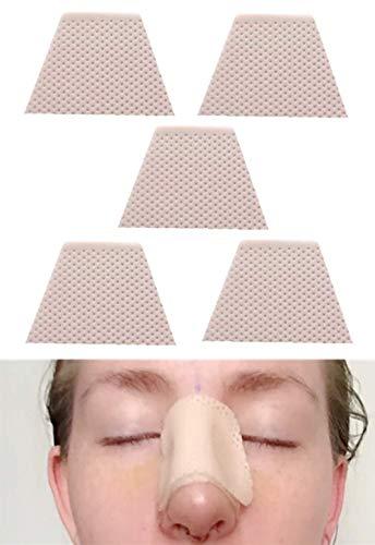 Férulas nasales termoplásticas, protector de soporte externo para nariz para ENT, rinoplastia septoplastia, inmovilización ortopédica, 5 unidades (M)