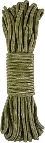 normani Stabiles Polypropylen-Seil, belastbar bis 250 kg universell einsetzbar Farbe Oliv Größe 9mm/60m