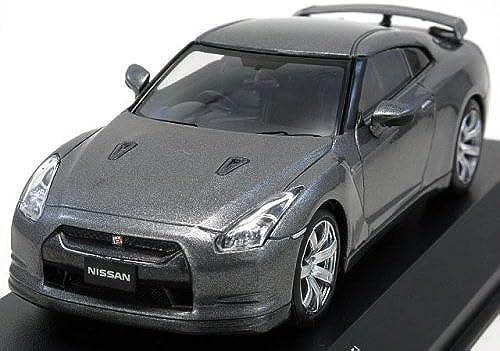 selección larga Kyosho KYOS03741DG Nissan GTR R35 2008 2008 2008 - Escala 1 43, Color gris  salida