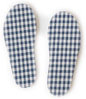 [スタンプル] [71577] キッズチェック柄インソール(中敷)/シューズ?レインシューズ長靴