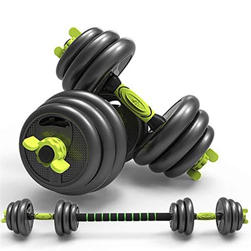 YQCH Pesos Ajustables Pasas de Pesas Home Fitness Peso Conjunto, Gimnasio Ejercicio Ejercicio Entrenamiento Pasas de Pesas con Vara de conexión para Hombres Mujeres (Color : 10kg(5kg*2))