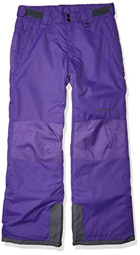 Arctix Kids Snow Pants with Reinforced Knees and Seat, Purple, X-Small