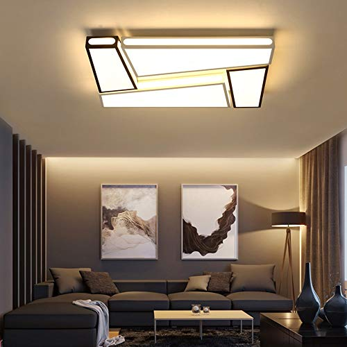 5151BuyWorld plafondlamp, moderne led-binnenverlichting, moderne led-plafondverlichting, voor woonkamer
