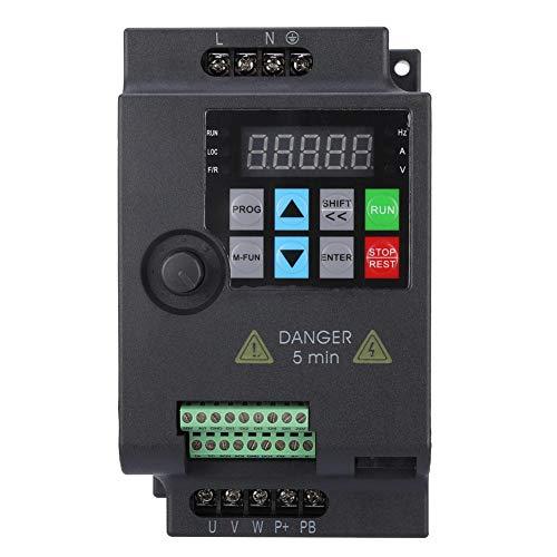 Mini VFD, Frequenzumrichter Frequenzumrichter Frequenzumrichter Frequenzumrichter für Motor, Drehzahlumrichter 220V / 380V 0.75/1.5/2.2KW (220VAC-0,75 kW)