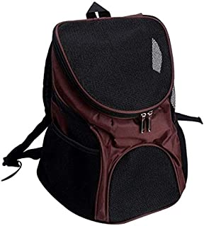 MAOSHE Pet Bag, Cat Bag Backpack Carrier Products Pet Travel Outdoor Carry Supplies for Cats Dogs Transport Animal Small P...