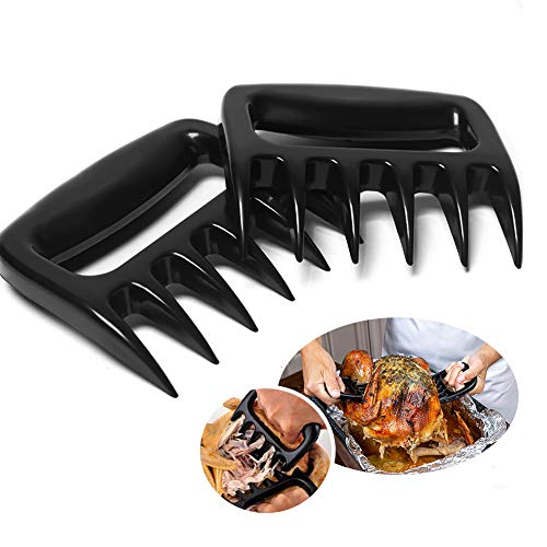 ggskystyle Meat Claws Meat Shredder Claws for BBQ,Strongest BBQ Meat Forks,These are The Meat Claws You Need,Best Pulled Pork Shredder Claw for Barbecue,Smoker,Grill,Slow Cooker,2 Pieces