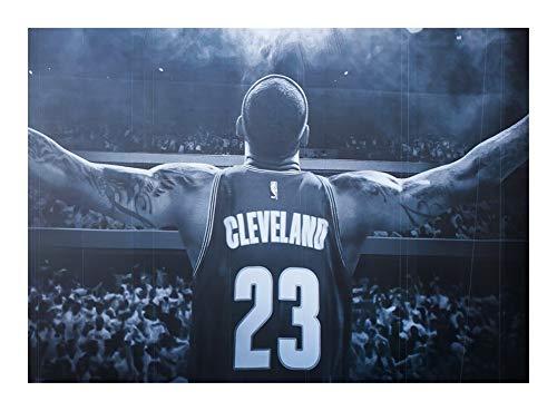 Puzzle Legno Cleveland NBA Stella di Pallacanestro Poster 300/500/1000 Pezzi Giocattoli Giochi- Ogni Pezzo è Unico, Pezzi Si incastrano Perfettamente (Size : 300pcs)