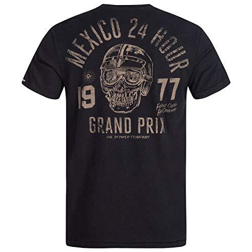 Rokker T-Shirt Mexico Herren Kurzarmshirt, XL