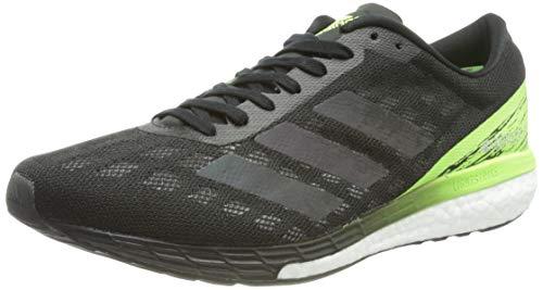 adidas Herren Adizero Boston 9 m Sneaker, Negbás/Negbás/Versen, 44 2/3 EU