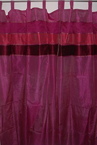 Marrakech Accessoires Orientalischer Vorhang Schlaufen Schal 110 cm x 240 cm (1 Stück) - 905307-0014