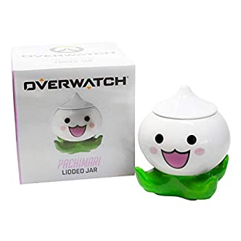 EXCLUSIVE Overwatch Pachimari Stash Jar | Small Stash Container With Lid | Store Valuables Herbs Spices & More | 5 Inches Tall
