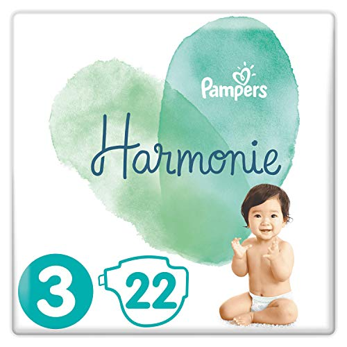 Pampers Pampersharmony - Windeln größe 2 (4-8 kg) hypoallergen - Value Pack (108 Lagen)
