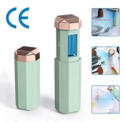 LED UV-desinfectie Lamp, Handheld kiemdodende ultraviolette licht, draagbaar USB oplaadbare, voor fles, sieraden, speelgoed, Keukengerei, 99% Cleanedeaned