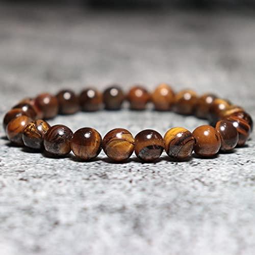 XIAOMAI Moda 3 unids/Set Pulsera de Cuentas de Piedra Natural Encanto DIY brazaletes para Hombres Brazalete Accesorios de joyería Homme