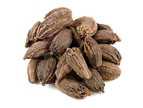 Black Cardamom PODS Organic Spice ** Free UK Delivery ** by Shopper's Freedom Herbs and Spices Seasoning - 500 Grams