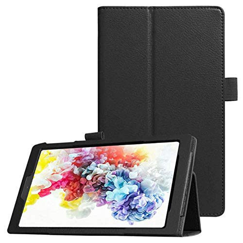 onn. 10.1' Tablet Case (Model: 100011886), PU Leather Protective Case [Family Case for Kids] with...