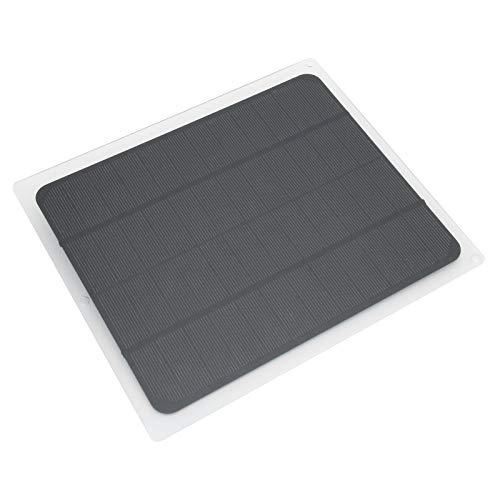 KUIDAMOS Panel Solar, Cargador de Panel Solar Multifuncional para baterías de Coche de 12V