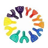 MERIGLARE Portaspazzolino In Plastica Per Portaimpronte Colorato