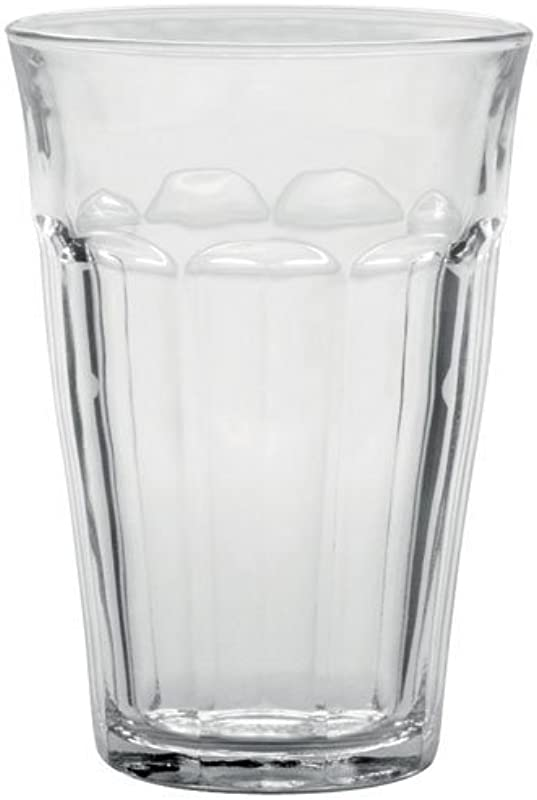 Duralex Made In France Picardie Clear Tumbler Set Of 6 12 62 Oz Exclusive