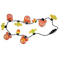 Shop Disney Mickey Mouse Pumpkin Light-Up Necklace