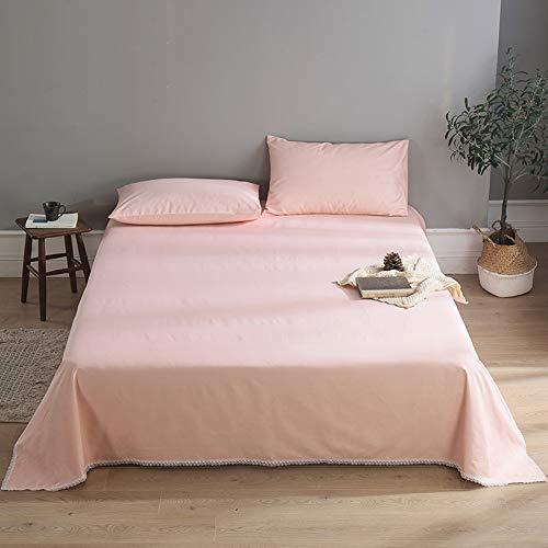 GCC Dikke katoenen stoffen sprei lakens, Premium kwaliteit Duurzame Poly Katoen Platform Bed Rokken Queen Size (270 * 245cm 106 * 96inch)