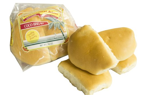 Jamaican Style Coco Bread, 16. Oz. (2 Packs)