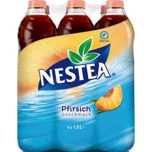 Nestea Pfirsich, 6er Pack (6 x 1,5 l) EINWEG