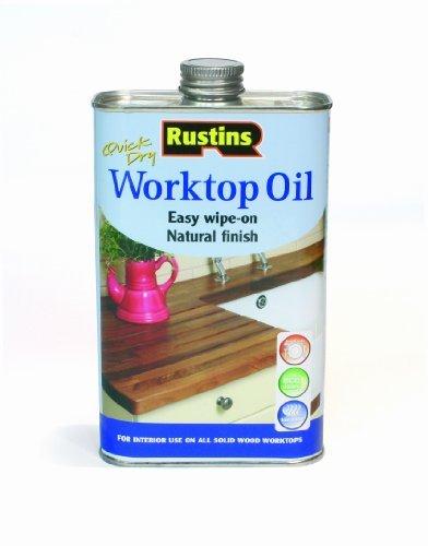 Rustins 500ml Quick Dry Worktop Oil by Rustins