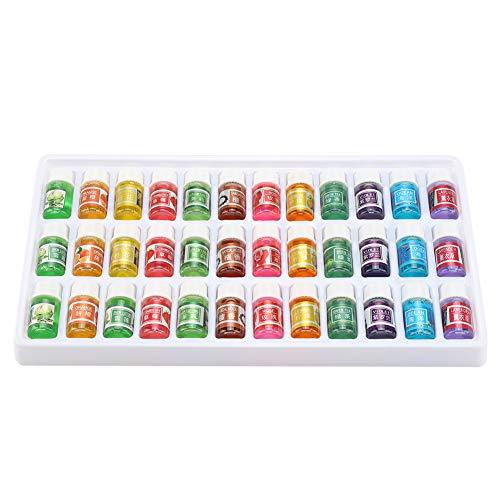 Gojiny Conjunto de Aceites Esenciales 36 Piezas de 3 Ml de Aceite Esencial de Fragancia Natural Soluble en Agua para Humidificador de Aromaterapia