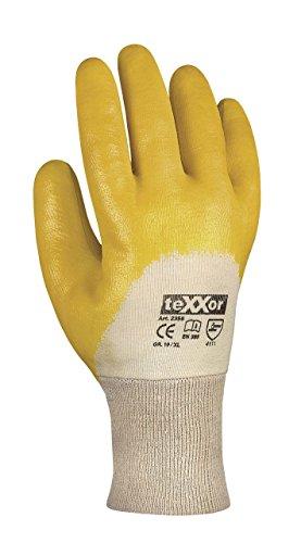 288 Paar - Nitril-Handschuhe Strickbund - teXXor® - 2356 - Größe 10