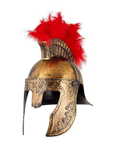 DISBACANAL Casco de Soldado Espartano - Oro