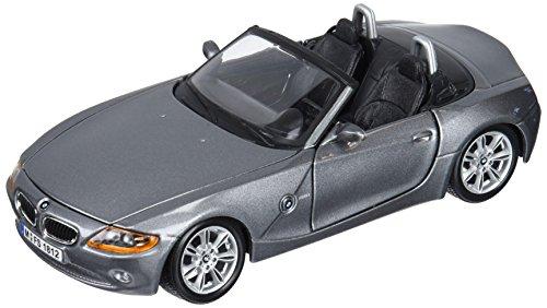 Bburago–BMW Z4Spielzeug-Auto, Grau (18–22002GY)