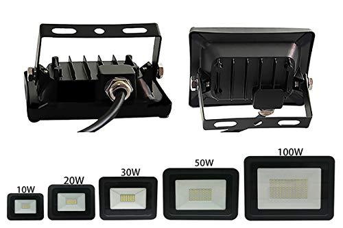 Luz de inundación llevada 220V-240V Proyector al aire libre
