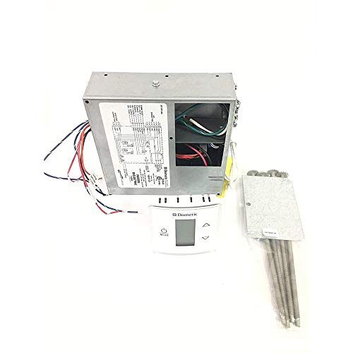 Dometic Air Conditioners Dometic 3316232.000 Control Kit/Relay Box Cool/Heat Pump with Polar White CT Wall Thermostat