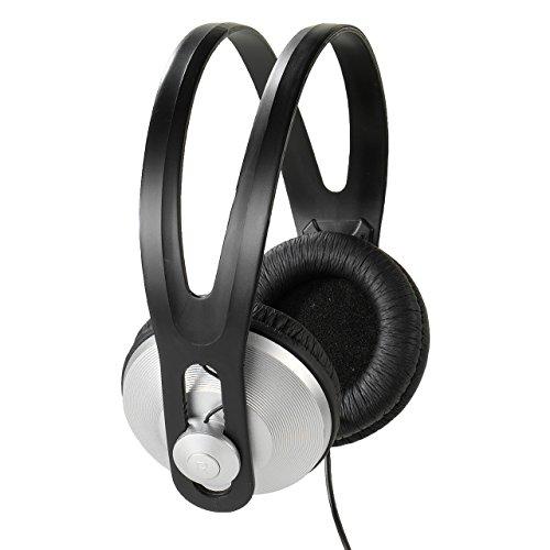 Vivanco SR 97 Stereo Kopfhörer (1,8 m Anschlusskabel/verstellbar) schwarz/Silber/Mehrfarbig