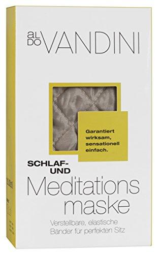 aldoVANDINI COMFORT MOMENTS Schlaf- und Meditationsmaske 1er Pack ( 1 x 1 Stück)