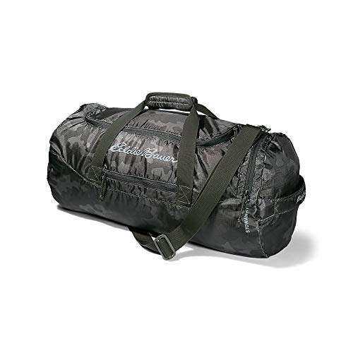 Eddie Bauer Unisex-Adult Stowaway Packable 45L Duffel, Camo Regular ONE SIZE