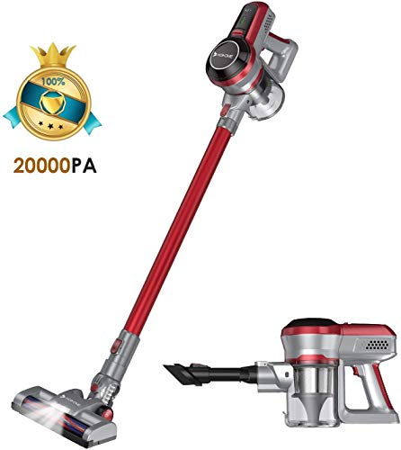 Hosome Aspirapolvere Senza Fili 20000Pa 2 in 1...