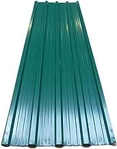 Deuba 12x Paneles para tejado 7m² de chapas perfiladas