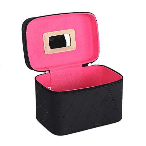 Boîte de Rangement Portable Simple Portable (Color : Black, Taille : Single Layer)
