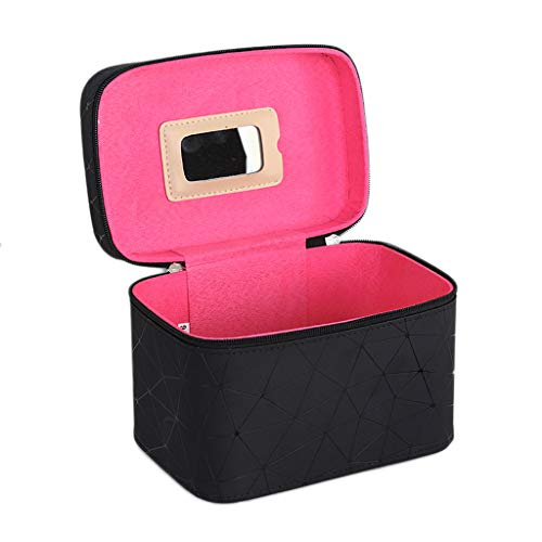 Boîte de Rangement Portable Simple Portable (Color : Black, Taille : Single Layer)