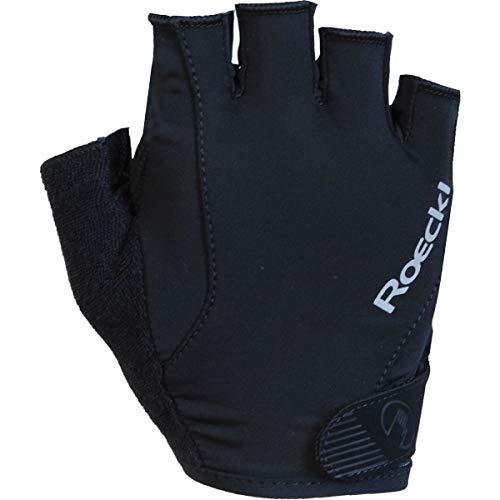 Roeckl Basel Fahrrad Handschuhe kurz schwarz 2020: Größe: 7.5