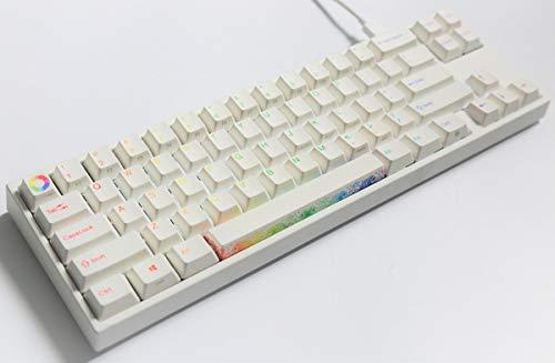 Ducky Miya Pro Rainbow White LED (Cherry MX Red) Keyboard