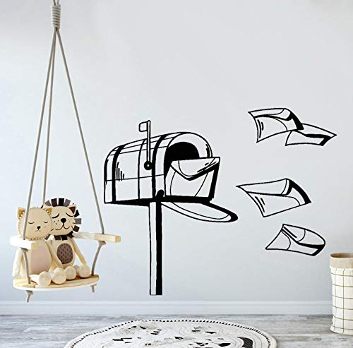Wandtattoo Aufkleber Tapete Postkarte Cartoon Muster Wandbild Für Babyzimmer Kinderzimmer Kunst Wanddekoration 70X57cm