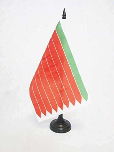 AZ FLAG Bandera de Mesa de la Provincia DE Zamora 21x14cm - BANDERINA de DESPACHO Zamora ENCastilla Y LEÓN 14 x 21 cm