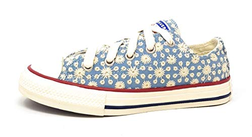 Converse Sneaker Low Chuck Taylor All Star Ox Blau Madchen - 33 EU