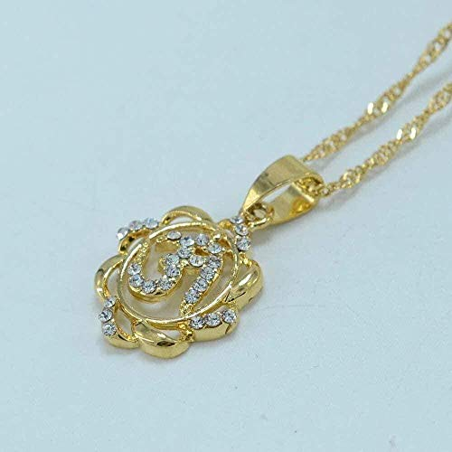 Yiffshunl Necklace Small Necklace India Yoga Pendant Necklace Women Girl Hindu Buddhist Om Hinduism Religious Jewelry India Necklace Gift