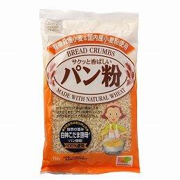 創健社 有機栽培小麦&国内産小麦粉使用 パン粉150g×11個    JAN:4901735020232